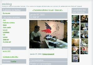 moblog Secours populaire français